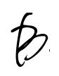 Beatrice B black ink