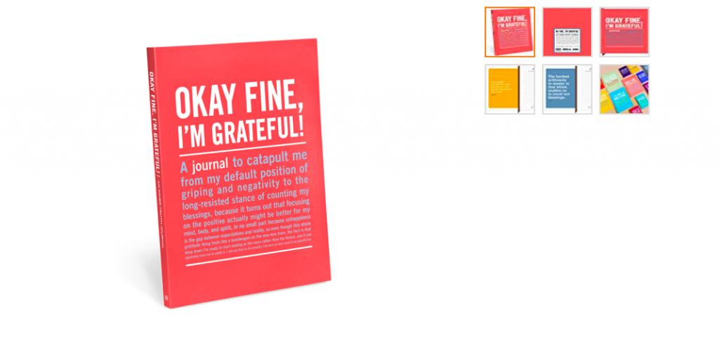 Gratitude book on Beatrice blog