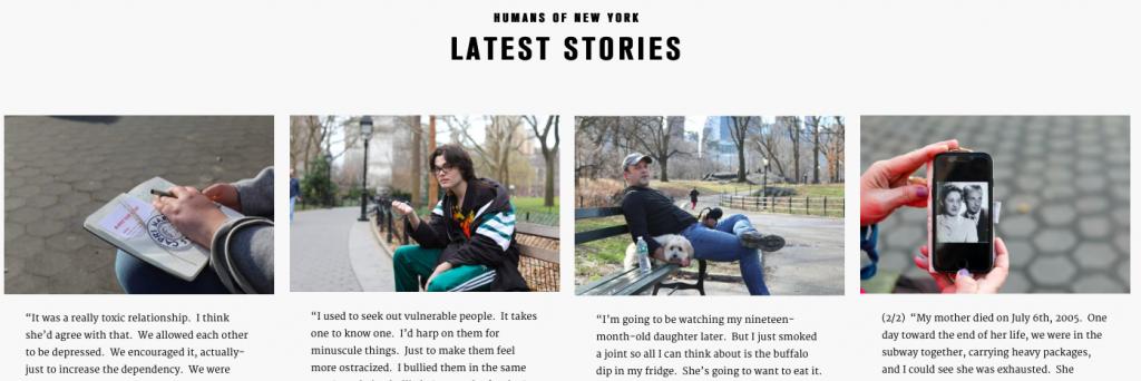 Humans of NY project blog post kabutakapua kardashian attention